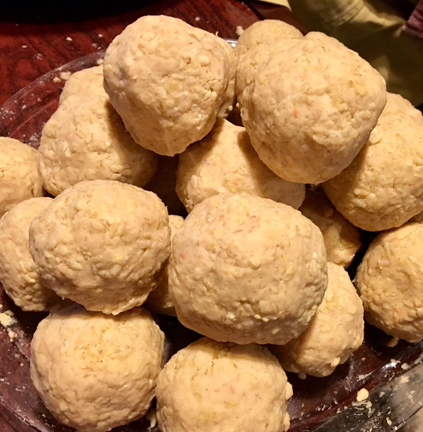 soybeans balls