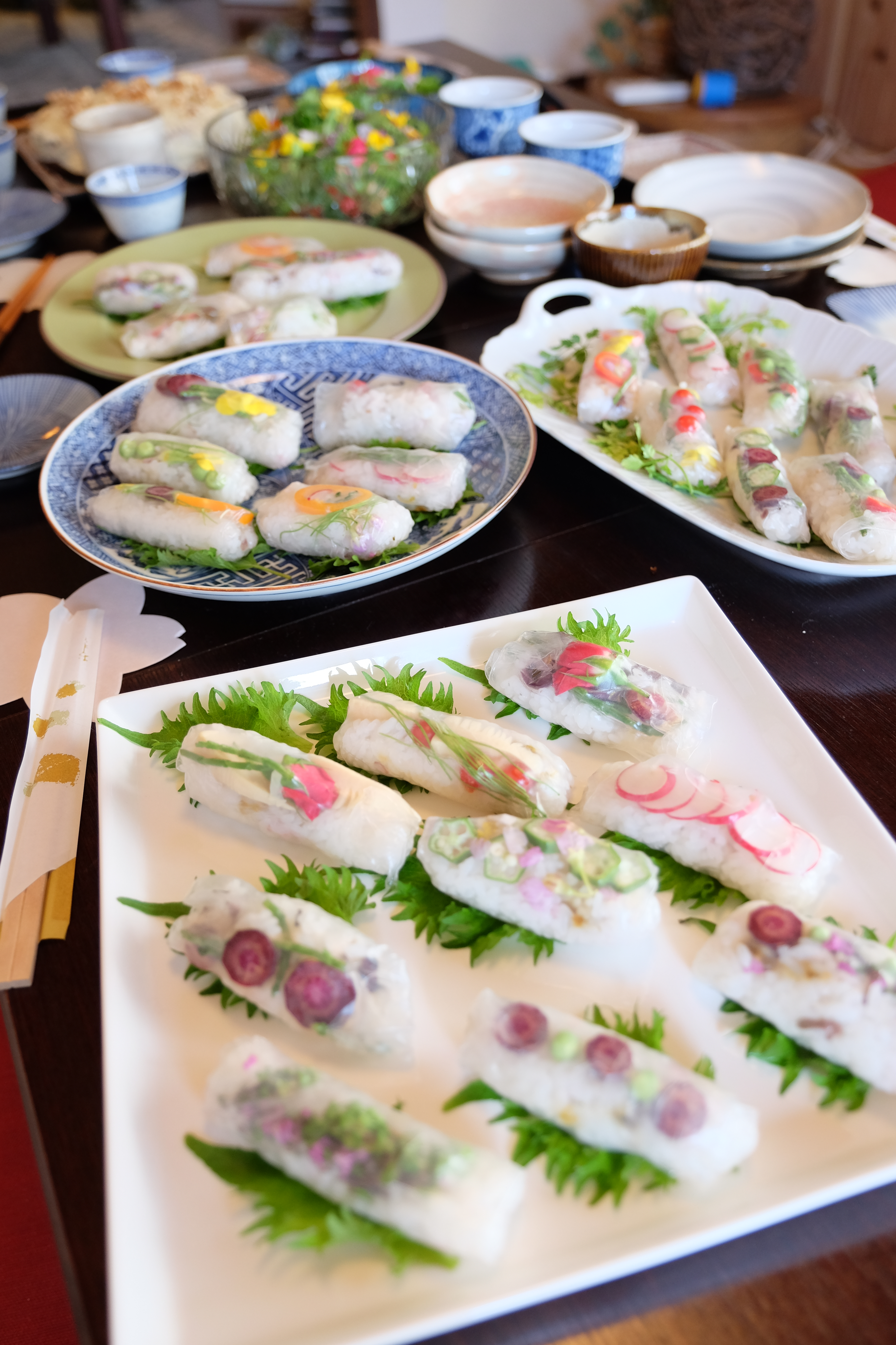 Sushi on thae table