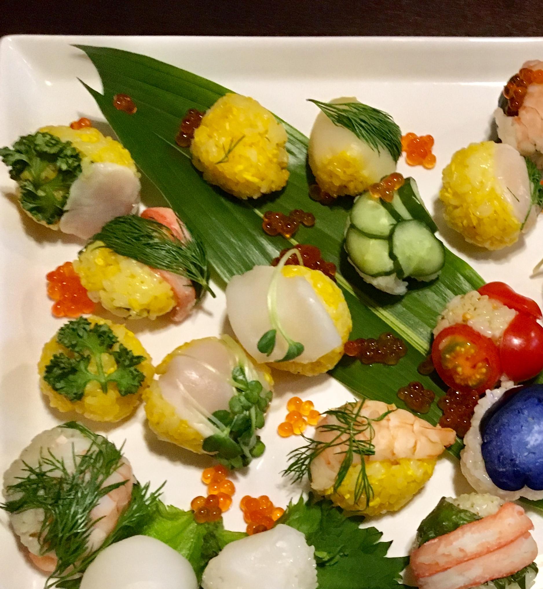 手間り寿司